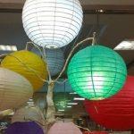 Cantiknya Lampu Lampion Kertas