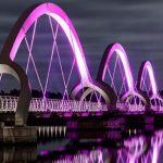 Penerangan Optimal dan Cantik pada Sarana Umum dengan Lampu Hias Jembatan