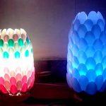Uniknya Lampu Lampion Plastik