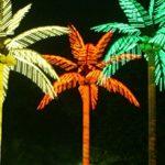 Memperindah Tempat Usaha dengan Lampu Pohon Palm/ Kelapa LED