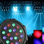 Memilih Lampu Sorot RGB dengan DMX Controller