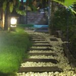Lampu Jalan Taman untuk Penerangan